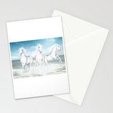 White Horses of the Camargue Stationery Cards