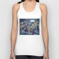 tv Tank Tops featuring TV by Anna Rettberg