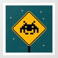 Road Sign Art Print