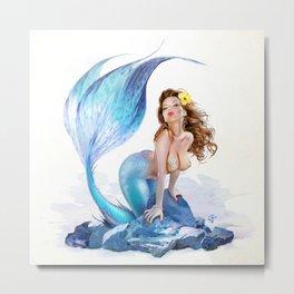 Little Mermaid Metal Print