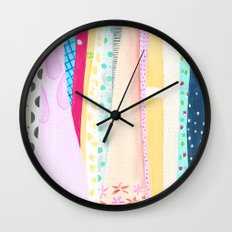 Dresses Wall Clock