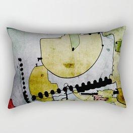 Old Market Place Rectangular Pillow