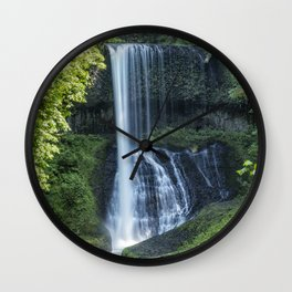 Middle North Falls Wall Clock