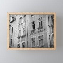 Abandoned hotel Framed Mini Art Print