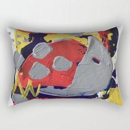 Miniature Original - pink and grey Rectangular Pillow