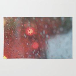 """Rain drops vibes"" Rug"