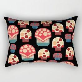 MUSHROOM PICKING Rectangular Pillow