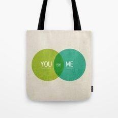 U & I = Fun 2013 Calendar Tote Bag