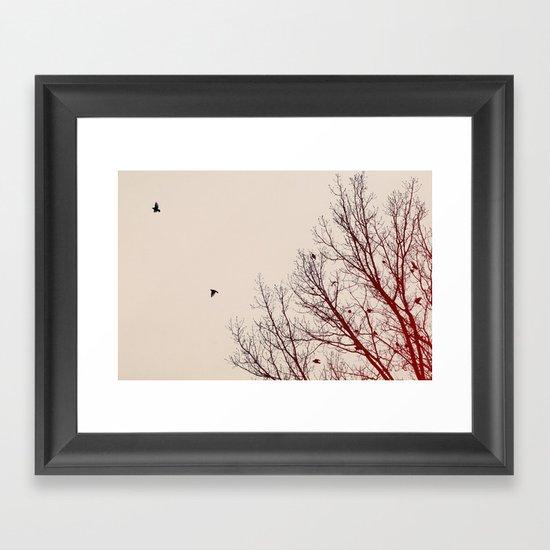Umber Days Framed Art Print