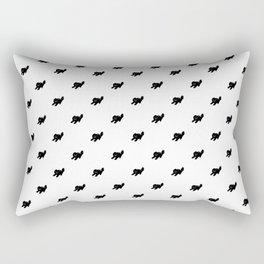 Ugly Kitten – Polka Kitten Rectangular Pillow