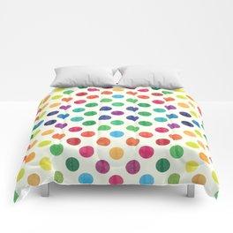 Lovely Dots Pattern III Comforters