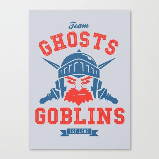 Team Ghosts & Goblins Canvas Print
