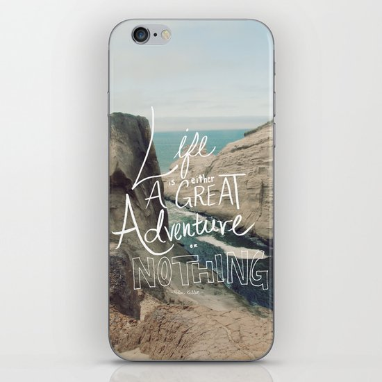 Great Adventure iPhone & iPod Skin