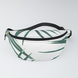 Green Palm Leaves Dream #2 #tropical #decor #art #society6 Fanny Pack