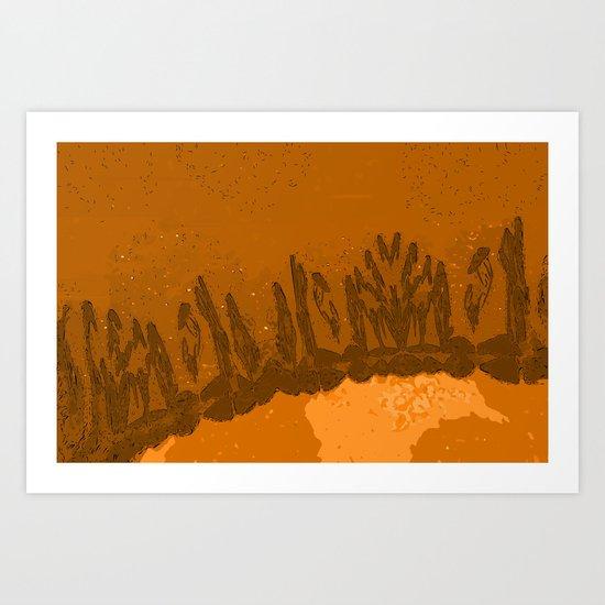 Rare Earth - Soil Art Print
