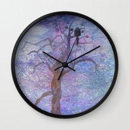 sleepless night Wall Clock