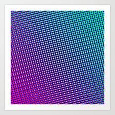 80's grade purple Art Print