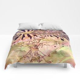 Magic Beans (Alternate colors version) Comforters