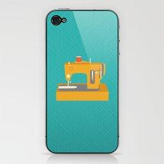 Sewing Machine Yellow iPhone & iPod Skin