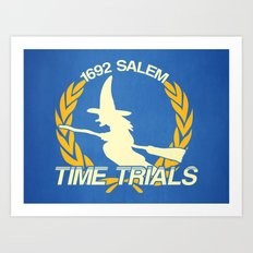 The Salem Time Trials Art Print