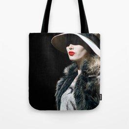 Lady Lips Tote Bag