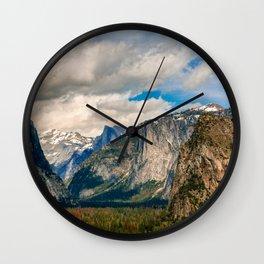 Yosemite Wall Clock