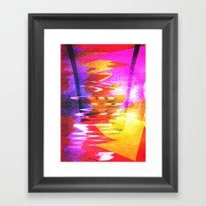 retro. Framed Art Print