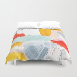 abstract painting XVI Duvet Cover