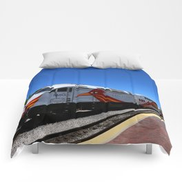 New Mexico Rail Runner Comforters