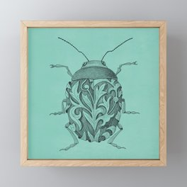 escarabajo Framed Mini Art Print