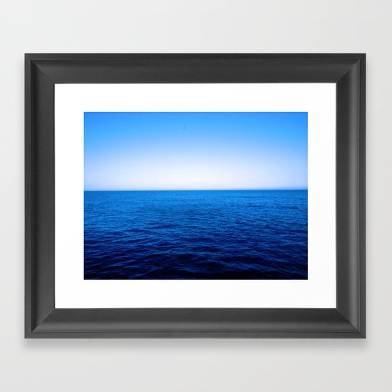 The Capes Framed Art Print