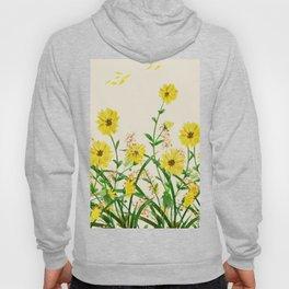 Yellow Wildflowers Hoody