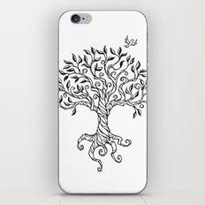 Shirley's Tree BW iPhone & iPod Skin