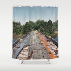 Rainbow Bridge Shower Curtain