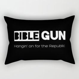 HANGIN' ON FOR THE REPUBLIC2 Rectangular Pillow