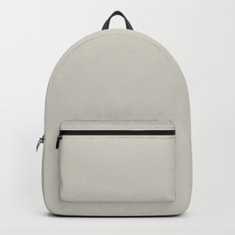 AMMONITE Neutral solid color Backpack