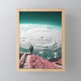 Don't spend all of your time trying to FIND yourself. Spend your time CREATING yourself into a perso Framed Mini Art Print