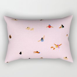 Pink! Rectangular Pillow