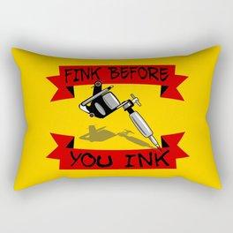 Tattoo Regret Rectangular Pillow