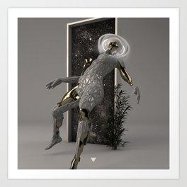 ENTER ∀ Art Print