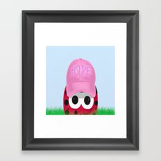 The Warrior Ladybug Framed Art Print
