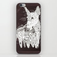 bull iPhone & iPod Skins featuring BULL  by Michael Todd Berland