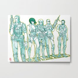 Ghost in the Shell 04 Metal Print