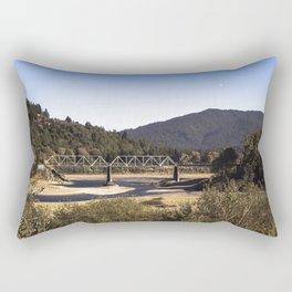 Dyerville Train Trestle Rectangular Pillow