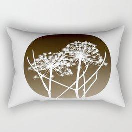 Cow parsnip - Tromso palm Rectangular Pillow