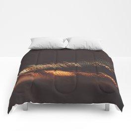 Bay Bridge California Night Comforters