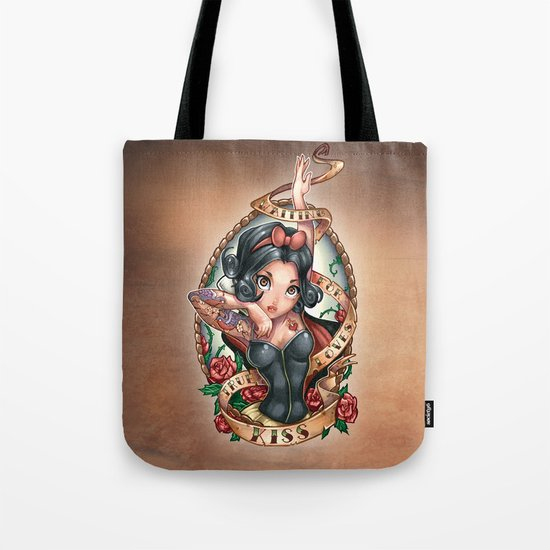 Waiting For Loves True Kiss Tote Bag