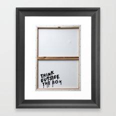 THEBOX Framed Art Print