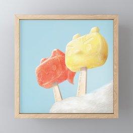 Popsicle Framed Mini Art Print