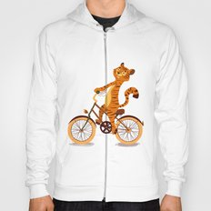 Tiger on the bike Hoody